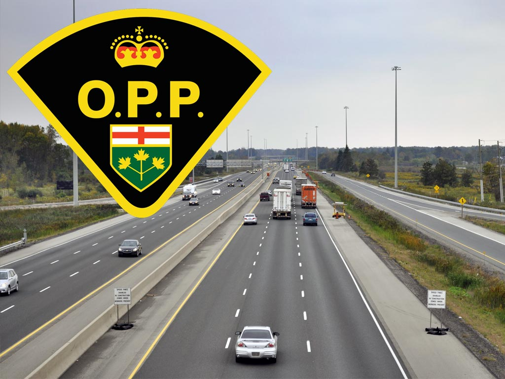 Fatal car accidents in Ontario - OPP 10 years statistics