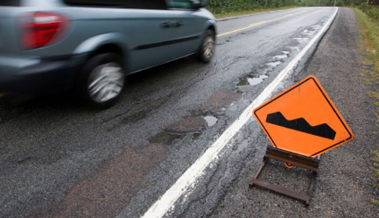 Car Accidents Caused By Road Conditions Ca